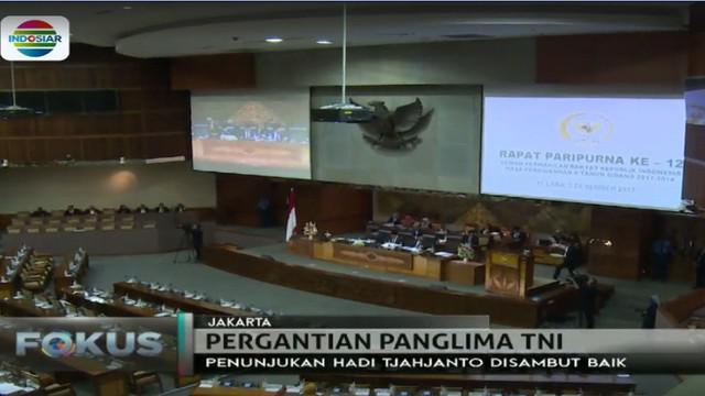 Terkait hal ini, Marsekal Hadi Tjahjanto kepada wartawan di Istana Bogor tak berkomentar banyak hanya memohon doa restu.