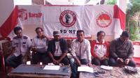 Relawan Jokowi (Joko Widodo) beryakinan pasangan calon Presiden dan Wakil Presiden Joko Widodo dan Ma'ruf Amien akan menang 95 persen di Nusa Tenggara Timur (NTT) pada Pemilu Presiden 2019.