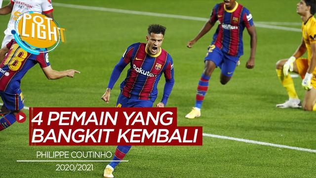 Berita video, Philippe Coutinho dan 4 pemain yang bangkit di musim 2020/2021