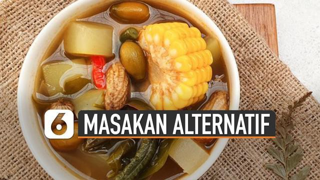 Menemani silaturahmi, menu-menu makanan tanpa santan berikut layak dihidangkan.