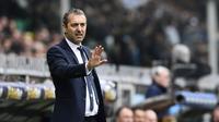 Marco Giampaolo beraksi saat menukangi Sampdoria, beberapa waktu lalu. AC Milan menunjuk Marco Giampaolo sebagai pelatih baru.  (AFP / Miguel Medina)