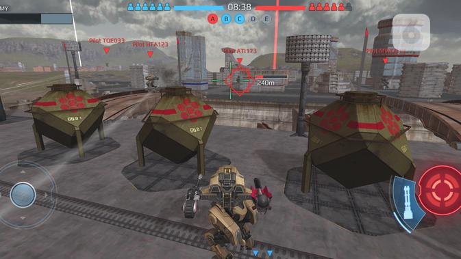 Gim War Robot di Realme 5T. Liputan6.com/Mochamad Wahyu Hidayat