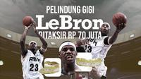 LeBron James (Grafis: Dody Iryawan/Bola.com)