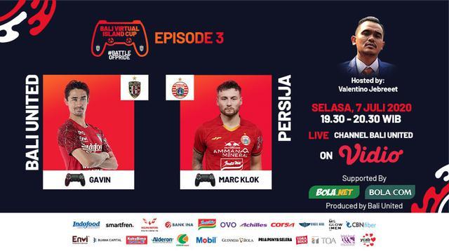 Bali Virtual Island Cup 2020 Episode Ketiga: Gavin Kwan Adist Vs Marc Klok. (Sumber: Vidio)