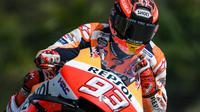 Marc Marquez sudah siap tempur di MotoGP Qatar (Mohd RASFAN / AFP)