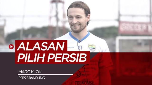 Berita video wawancara Marc Klok mengenai alasannya pindah ke Persib Bandung