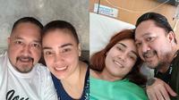 6 Potret Setia Franky Sihombing Temani Feby Febiola Jalani Perawatan (Sumber: Instagram/frankysihombingz/febyfebiola_)