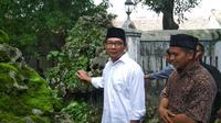Ridwan Kamil menjadi Guru Mading pada film Dilan 1990 (Liputan6.com / Panji Praytino)