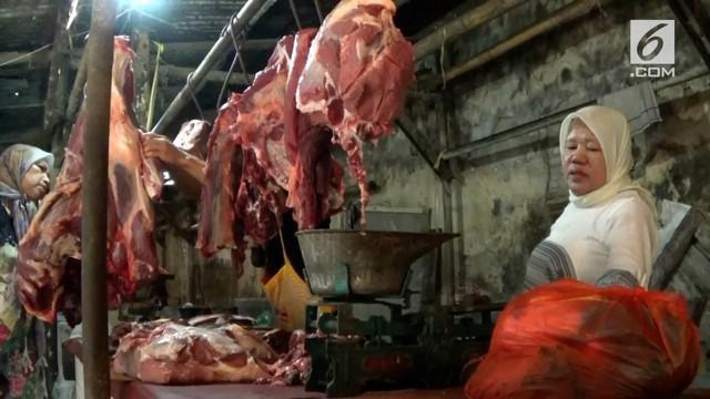 Kamis (08/06), harga daging sapi dan ayam potong di Purwakarta turun.