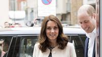 Selain barang bawaannya, diberitakan juga soal fasilitas kamar yang akan ditempati Kate saat melahirkan anak ketiganya nanti.  (AFP)