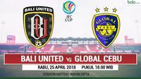 AFC CUP_Bali United Vs Global Cebu (Bola.com/Adreanus Titus)