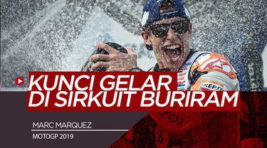 Berita Video Detik-Detik Marquez Kunci Juara MotoGP 2019