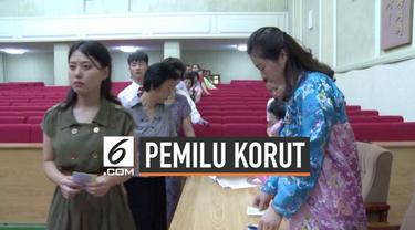 Korea Utara menggelar pemilihan umum untuk memilih perwakilan majelis provinsi, kota, dan kabupaten. Tingkat partisipasi pemilih mencapai hampir 100 persen.