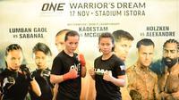 Petarung Indonesia, Priscilla Hertati Lumban Gaol akan menghadapi petarung Filipina, Angelie Sabanal akan bertarung di ajang ONE Championship, Sabtu (17/11/2018). (ONE Championship)