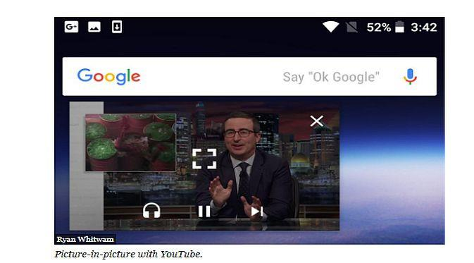 Picture-in-Picture mode di Android Oreo (Foto: Forbes)