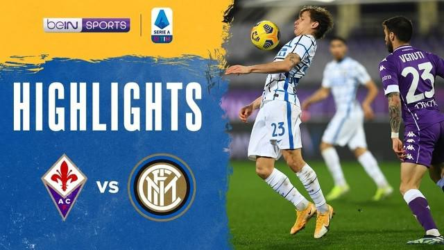 Berita video highlights Liga Italia, Inter Milan Vs Fiorentina 2-0, Sabtu (6/2/21)