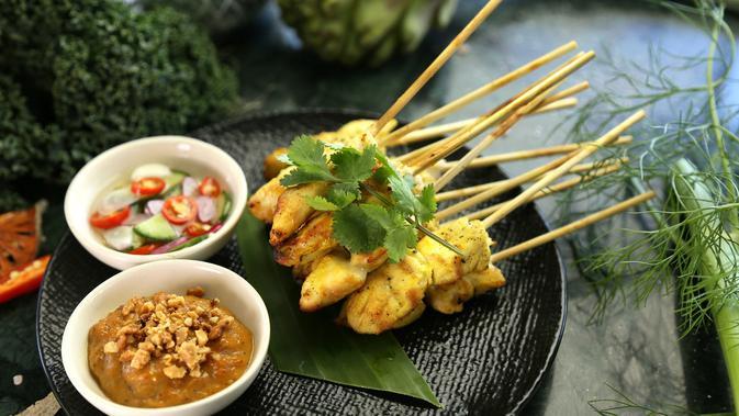 Resep Sate Ayam Bumbu Kuning Sederhana