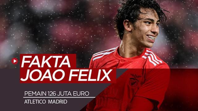 Berita video fakta-fakta menarik soal Joao Felix, pemain termahal Atletico Madrid.