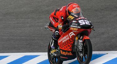 Jeremy Alcoba, Pembalap Tim Indonesian Racing di Moto3, Juara 3 di Moto3 Jerez, Spanyol