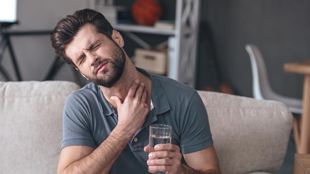 Sakit tenggorokan (iStock)