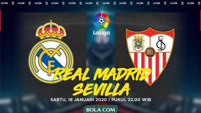 Prediksi Real Madrid Vs Sevilla Bukan Lawan Mudah Spanyol Bola Com