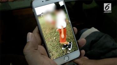 Aksi perkelahian ala gladiator terjadi lagi, kali ini dilakukan dua anak SD di Temanggung.