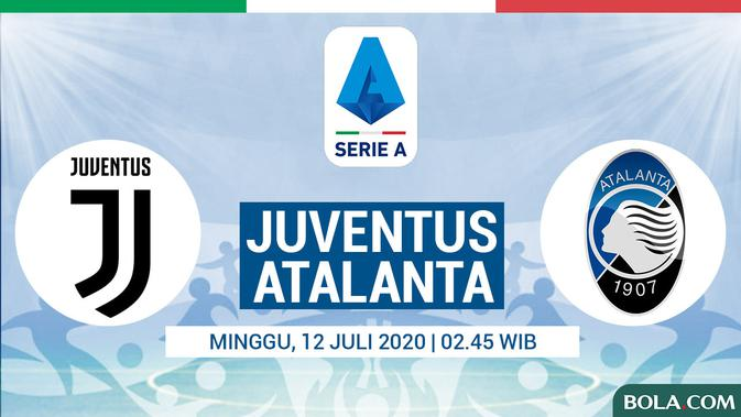 Live Streaming Juventus Vs Atalanta dalam Liga Italia di Vidio Pukul 02.45 WIB