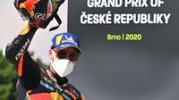 Brad Binder raih juara di MotoGP Ceko (Joe Klamar/AFP)