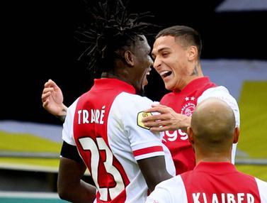 Ajax Amsterdam Pecahkan Rekor, Menang 13 Gol Tanpa Balas