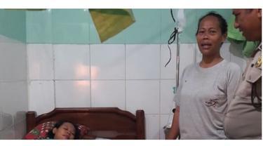 Aksi Polisi Bantu Persalinan Ibu di Gang Sempit Ini Bikin Haru