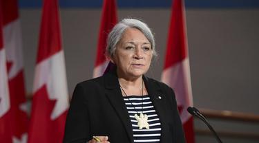 Mary Simon, Gubernur Jenderal Pertama Kanada Orang Pribumi Suku Inuit. (Sean Kilpatrick/Canadian Press)