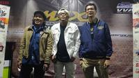 Sule menjadi bintang tamu Maxi Yamaha Day 2019 di Cikole, Bandung. (Septian / Liputan6.com)
