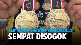 VIDEO: Tim Sepak Takraw Gorontalo Sempat Disogok Ratusan Juta Sebelum Raih Medali Emas