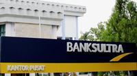 Kantor Bank Sulawesi Tenggara di Kendari.(Dokumen Foto Bank Sultra)
