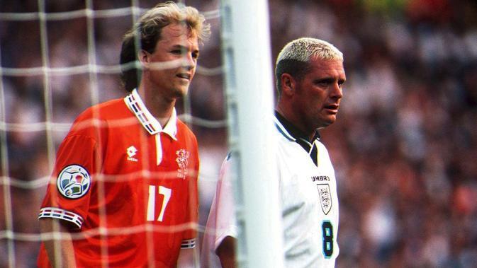 Legenda tim nasional Inggris, Paul Gascoigne. (AFP)