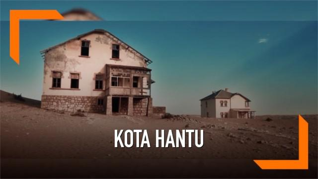 Seorang fotografer asal Jerman mengunjungi kota hantu di Afrika yang bernama Kolmankop. Kota tersebut ditinggalkan oleh penduduknya karena tambang berlian disana telah habis.