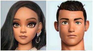 Foto 7 Selebriti Ini Diubah Jadi Karakter Disney, Hasilnya Curi Perhatian