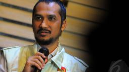Menurut Abraham, KPK menduga Yasin menerima uang senilai Rp 3 miliar sebelum operasi tangkap tangan (OTT), Jakarta, Kamis (8/5/2014) (Liputan6.com/Faisal R Syam).