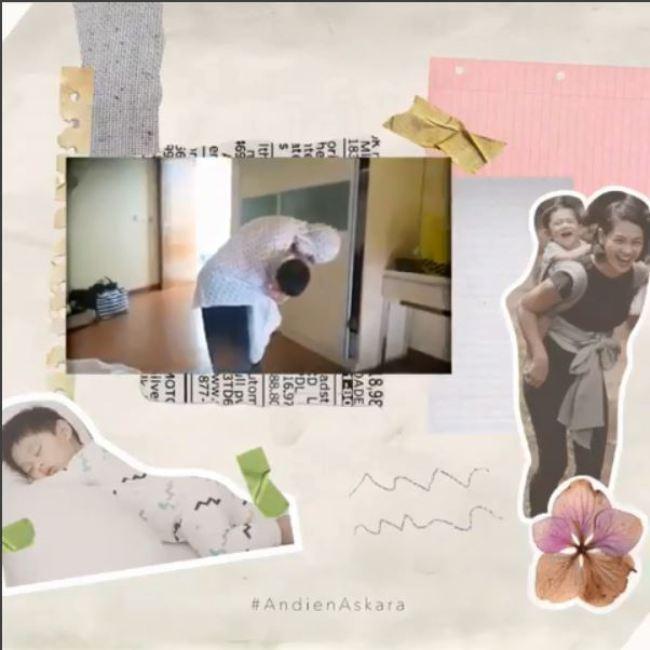 Video perayaan satu tahun Kawa, anak dari penyanyi Andien. (Instagram - @andienaisyah)