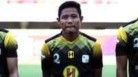 Gelandang Barito Putera, Evan Dimas Darmono, di Stadion Gelora Bung Tomo, Surabaya, Jumat (9/7/2019). (Bola.com/Aditya Wany)