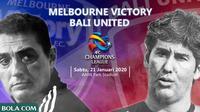 Melbourne Victory Vs Bali United. (Bola.com)