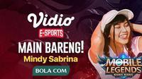 Main Bareng Mobile Legends : Bang Bang akan menghadirkan Mindy Sabrina.