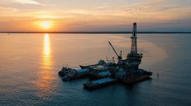 PT Pertamina Hulu Indonesia (PHI) melakukan pemboran sumur minyak dan gas (migas) eksplorasi dan pengembangan di wilayah kerja Regional 3 Kalimantan. (Dok Pertamina)