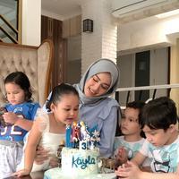 Ultah Kayla Anak Pasha Ungu (Instagram/adeliapasha)