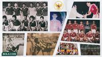 Kolase - Timnas Indonesia di SEA Games 1987 dan 1991 (Bola.com/Adreanus Titus)