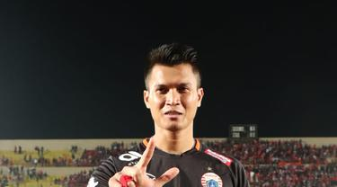 Debut Shahar Ginanjar bersama Persija Jakarta berakhir dengan kemenangan.
