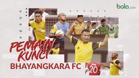Piala Presiden: Pemain Kunci Bhayangkara FC. (Bola.com/Dody Iryawan)