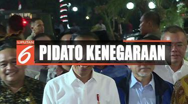 Jokowi juga akan menyampaikan rencana pemindahan ibu kota negara dari Jakarta ke wilayah di Kalimantan.