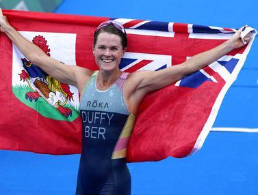 Foto: Mengenal Flora Duffy, Atlet dari Negara Terkecil yang Mampu Meraih Medali Emas Olimpiade Tokyo 2020