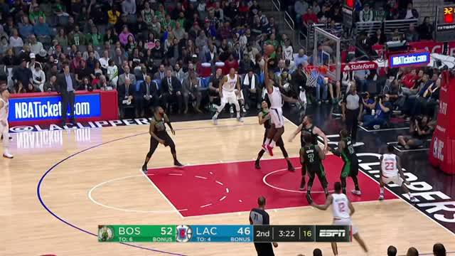Berita video game recap NBA 2017-2018 antara Boston Celtics melawan LA Clippers dengan skor 113-102.
